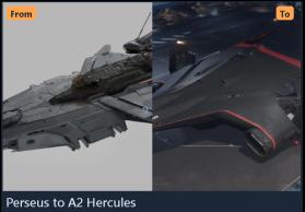 Perseus to A2 Hercules