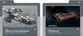Andromeda to Caterpillar