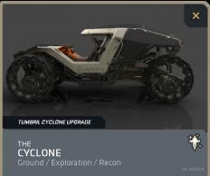 Cyclone  Limited Dust Devil Skin