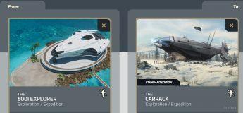 600i Explorer to Carrack Subscribers