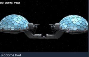 Endeavor Biodome Pod