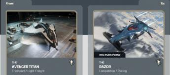 Avenger Titan to  Razor  Upgrade