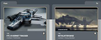 F7C-R Hornet Tracker to Retaliator Base Upgrade CCU