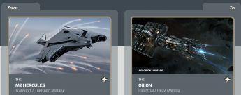 M2 Hercules to Orion Upgrade CCU