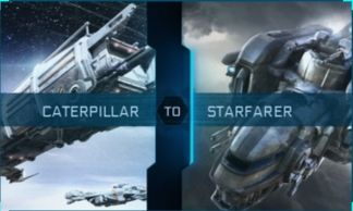 Caterpillar to Starfarer Upgrade CCU