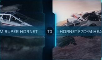 F7C-M Super Hornet to Hornet F7C-M Heartseeker Upgrade CCU
