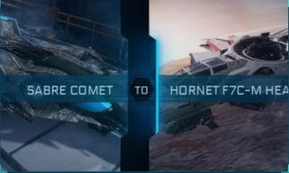 Sabre Comet to Hornet F7C-M Heartseeker Upgrade CCU