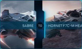 Sabre to Hornet F7C-M Heartseeker Upgrade CCU
