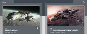 Freelancer MIS to Hornet F7C-M Heartseeker Upgrade CCU