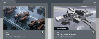 Argo SRV to F7C-M Super Hornet Upgrade CCU