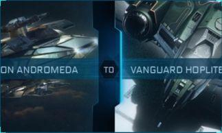 Constellation Andromeda to Vanguard Hoplite Upgrade CCU
