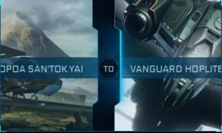 Aopoa San'tok.ya to Vanguard Hoplite Upgrade CCU