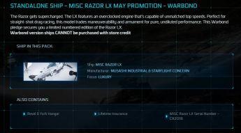 MISC Razor LX OC LTI