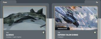 Flase Sale > Upgrade - Gladius To Esperia Talon Shrike Standard Edition