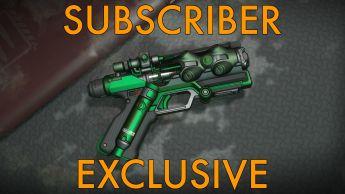 "A Yubarev ""Venom"" Pistol - Subscribers Exclusive"