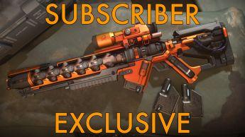 "A Atzkav ""Igniter"" Sniper Rifle - Subscribers Exclusive"