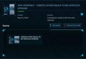 Constellation Aquila to M2 Hercules Upgrade