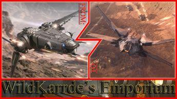 Drake Corsair to RSI Scorpius CCU