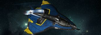 2950 Invictus Avenger Blue and Gold Livery