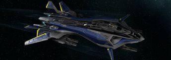 2950 Invictus Retaliator Midnight Blue and Gold Livery