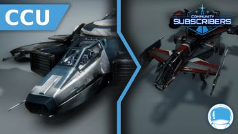 Upgrade - Hornet Ghost To Cutlass Red - w/ Sub. Flairs