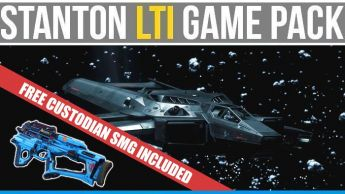 Hornet Ghost LTI Game Pack - Squadron 42 + Star Citizen + Free Rifle