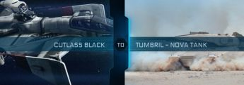 Cutlass Black to Tumbril Nova Tank Upgrade CCU
