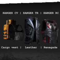 Ranger TR Warbond w/ Renegade Leather Cut