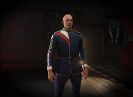 Second Tevarin War Service Uniform
