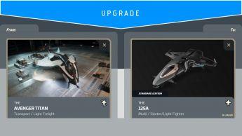 Aegis Avenger Titan to Origin 125a (Upgrade)