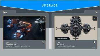 Argo Mole to Hull D (Upgrade)