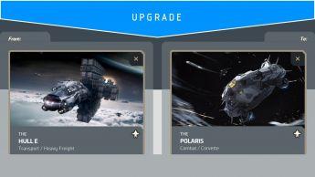 Hull E to Polaris upgrade (CCU)