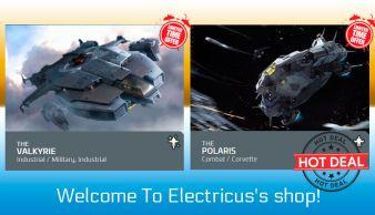 Anvil Valkyrie to Polaris Upgrade CCU