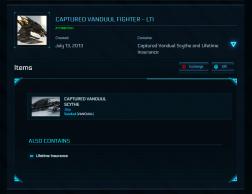 Captured Vanduul Scythe Fighter - LTI