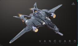 Standalone Ship - Aegis Vanguard Warden LTI Original Concept