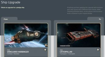 Upgrade Vanguard Harbinger to Caterpillar