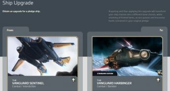 Upgrade Vanguard Sentinel to Vanguard Harbinger