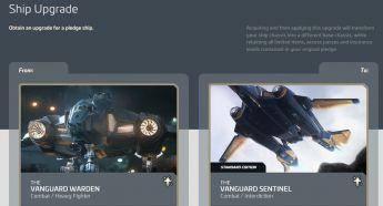 Upgrade Vanguard Warden to Vanguard Sentinel