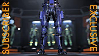A RSI Venture Pathfinder Leg Armor - Subscribers Exclusive