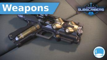 "Yubarev ""Deadeye"" Pistol - Weapon - Subscriber"