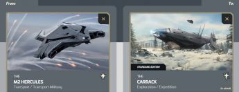 Flash Sale > M2 Hercules to Carrack Upgrade