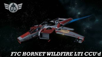 F7C Hornet Wildfire LTI CCU'd