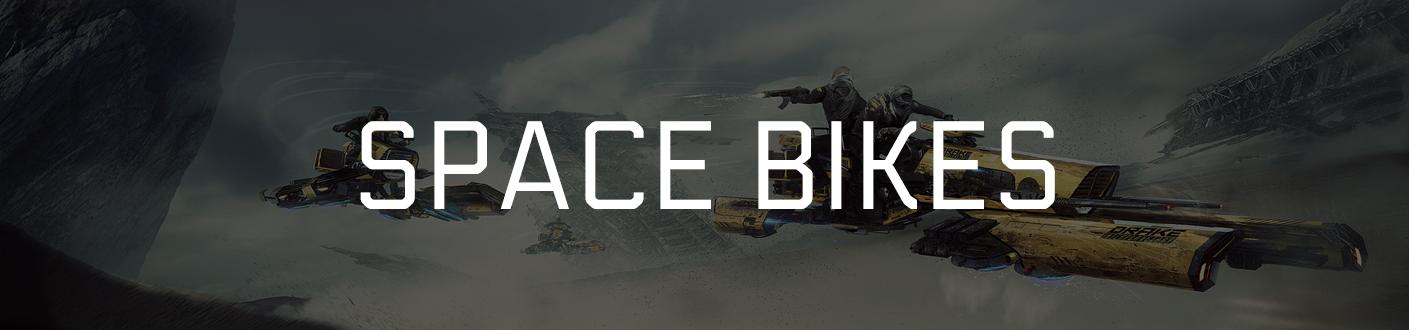 Space Bikes Banner